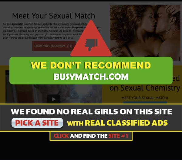 BusyMatch.com screenshot