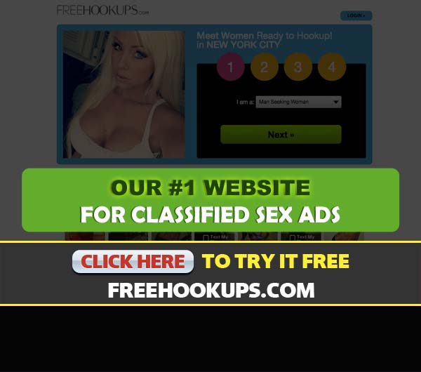 FreeHookups.com screenshot
