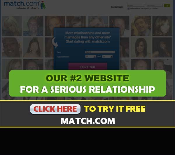 Match.com screenshot