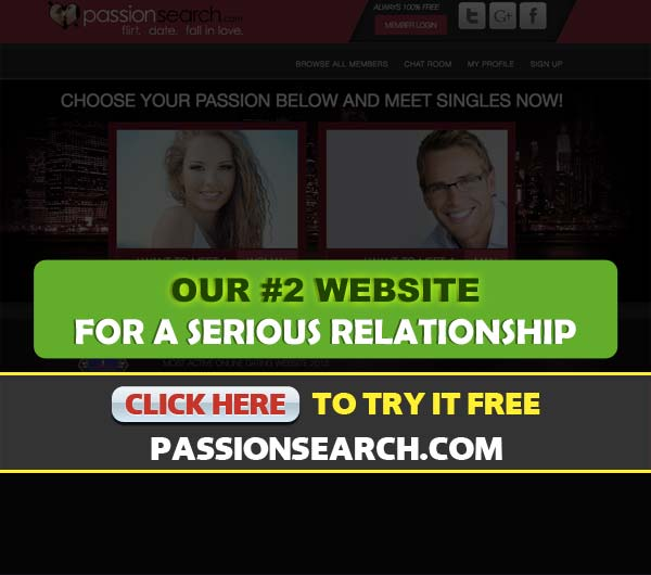 PassionSearch.com screenshot