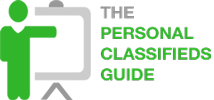 personal classifieds guide logo
